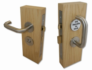 Accessible Toilet Lock Satin Stainless Steel 163 113 40